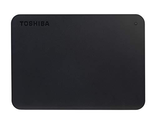 Toshiba Canvio Basics - Disco duro externo portátil USB 3.0 de 2.5 pulgadas (1 TB) color negro