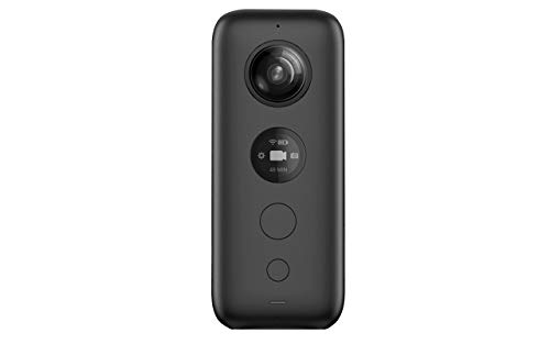 Insta360 One X - Cámaras de 360 Grados (Micro-USB, Black, Ultra Wide-Angle, 200°, 18 MP, 25.4/2.3...