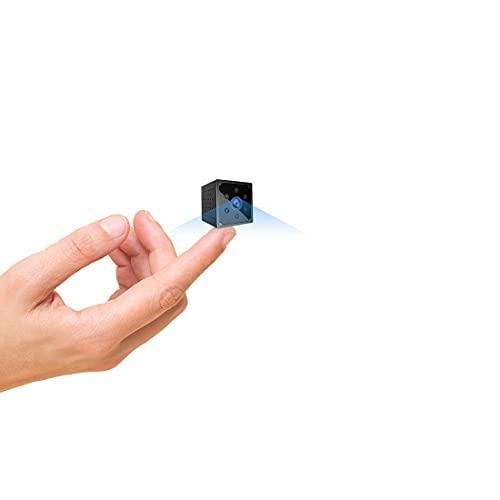 Cámara Espía, AOBO 4K HD Mini Camara Oculta WiFi para Ver en el Movil con App, Microcamara...