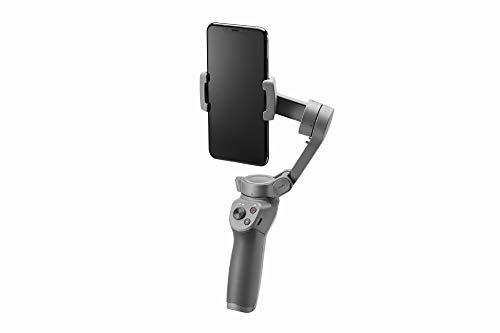 DJI Osmo Mobile 3, Estabilizador de 3 Ejes para Smartphone Compatible con iPhone y Smartphone,...
