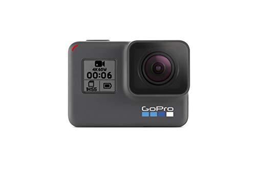 GoPro Hero6 Black - Cámara de acción Digital (Resistente al Agua, para Viajes con Pantalla...