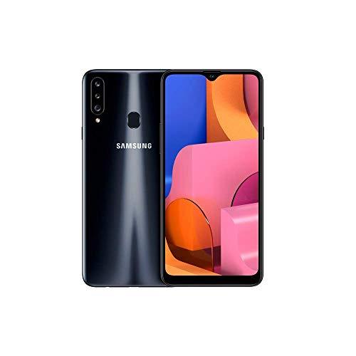 Samsung Galaxy A20s - Smartphone 6.5' Infinitiy V HD+ (teléfono 3GB RAM, 32GB ROM), Negro [Versión...