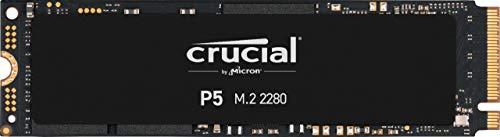 Crucial P5 250GB CT250P5SSD8 Unidad interna de estado sólido-hasta 3400 MB/s (3D NAND, NVMe, PCIe,...