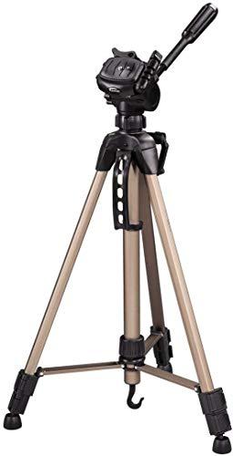Hama Star 61 - Trípode ligero (con cabezal de 3 vías, altura 60-153 cm, peso 1220 g, trípode...