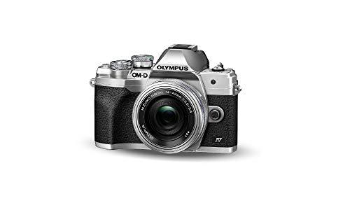 Kit de cámara del Sistema Micro Four Thirds Olympus OM-D E-M10 Mark IV, Sensor de 20 Mpx, Visor...