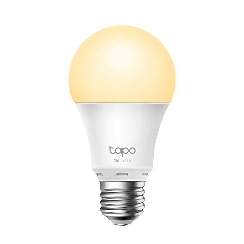 TP-Link -Bombilla LED Inteligente, Bombilla WiFi sin necesidad de Hub, Blanco Cálido,Regulable,E27,...