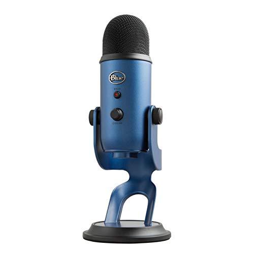 Blue Micrófono USB profesional Yeti para grabación, streaming, podcasting, radiodifusión, gaming,...