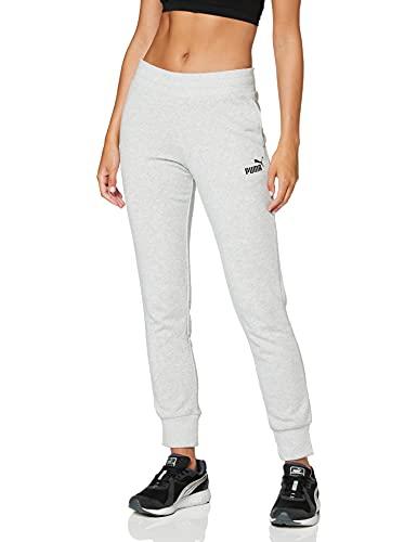 PUMA ESS Sweat Pants TR cl Pants, Mujer, Light Gray Heather, XS