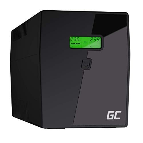 Green Cell® SAI Sistema de alimentación ininterrumpida UPS Potencia 1500VA (900W) 230V Fuente de...