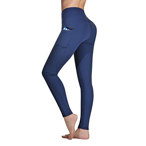 Occffy Cintura Alta Pantalón Deportivo de Mujer Leggings Mallas para Running Training Fitness...