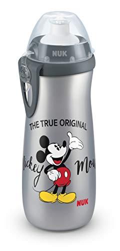 NUK 10255415 Disney Mickey Mouse Sports Cup - Botella para niños (a partir de 36 meses, antigoteo,...