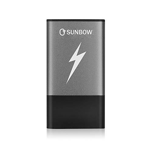 TCSUNBOW Unidad de Estado sólido portátil Unidad Externa SSD de 120 GB y 240 GB con Interfaz Tipo...