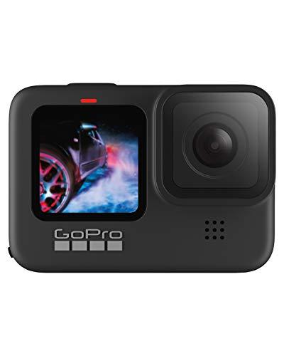 GoPro HERO9 Black - Cámara de acción sumergible con pantalla LCD delantera y pantalla táctil...