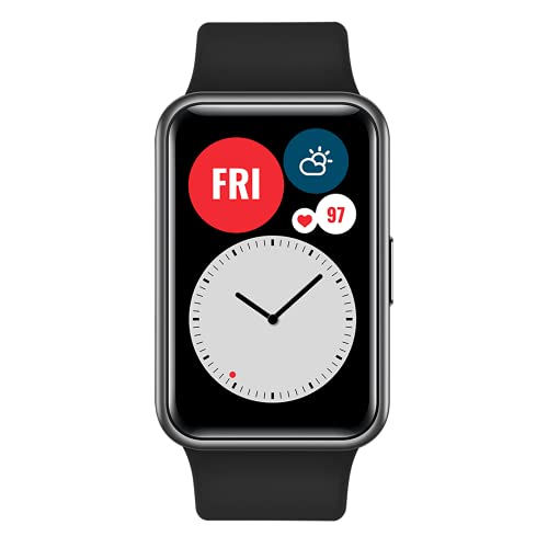 """HUAWEI WATCH FIT - Smartwatch con cuerpo de metal, pantalla AMOLED de 1,64"""", hasta 10 días de..."""
