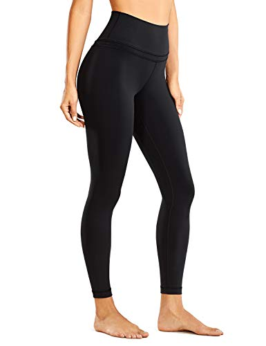 CRZ YOGA Mujer Naked Feeling Deportivos 7/8 Leggings Yoga Fitness Pantalon de Cintura Alta con...