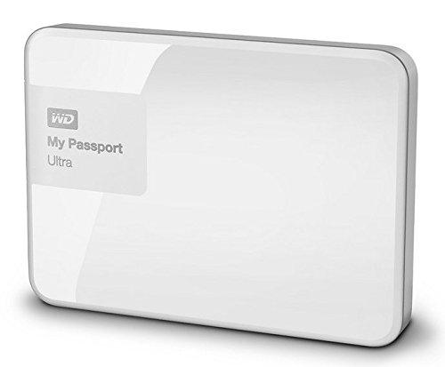 WD My Passport Ultra - Disco Duro Externo portátil de 3 TB (2.5', USB 3.0), Color Blanco
