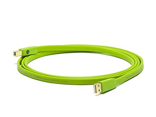Neo NEOUSBB1M - Cable USB-A a USB-B (profesional, 1 m, conector chapado en oro)