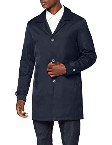 Marca Amazon - find. Mac - Chaqueta Hombre, Azul (Navy), XS, Label: XS