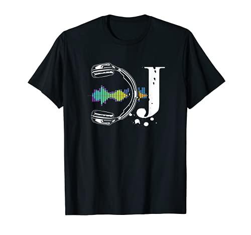 Camisas DJ para hombres y mujeres | DJ Headphone Camiseta