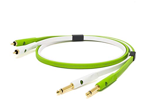 Neo NEORTS3M 3 m D + clase B 1/4 TS a RCA Cable