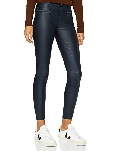Marca Amazon - find. Pantalones Mujer, Azul (azul marino), 36, Label: XS