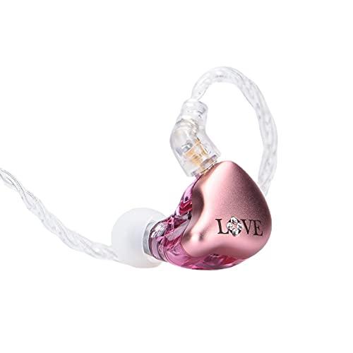 El fragante Zither MYLOVE IV, híbrido en el oído auricular K60 fuerte unidad de controladores HiFi...