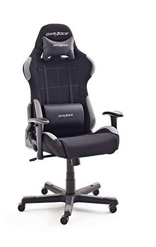 DX Racer 5 Robas Lund - Silla de Escritorio/Oficina/Gaming, con Ruedas, Altura Ajustable, Tapizada,...