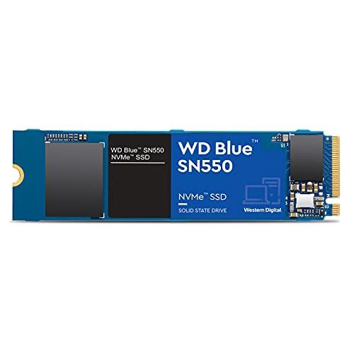 Western Digital Azul SN550 250GB NVMe SSD, Gen3 x4 PCIe, M.2 2280, 3D NAND