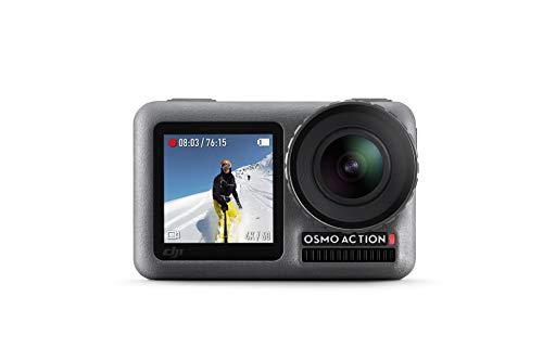 DJI Osmo Action Cam - Cámara digital con 11m Pantalla dual Resistente al agua 4K HDR-Video 12MP 145...
