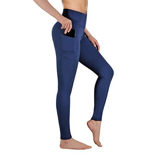 Gimdumasa Pantalón Deportivo de Mujer Cintura Alta Leggings Mallas para Running Training Fitness...