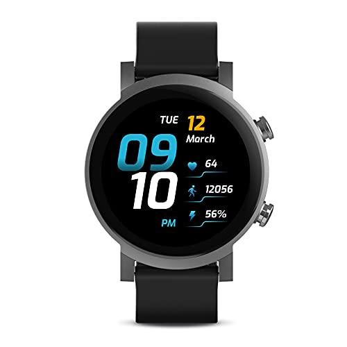 Ticwatch E3 Smartwatch para Hombres Wear OS con Qualcomm Snapdragon Wear 4100 Plataforma de Sistema...