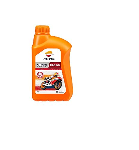REPSOL Moto Racing 4T 10W-50 Aceite De Motor Para Moto, 1l