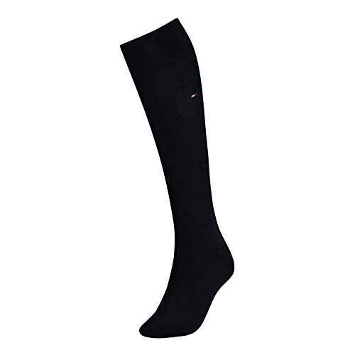 Tommy Hilfiger 443030001 Calcetines, Mujer, Azul (Midnight Blue 563), 35/38 (Tamaño del...