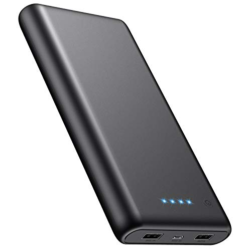 iPosible Batería Externa, Power Bank [24800mAh] Ultra Alta Capacidad Cargador Portátil Móvil con...