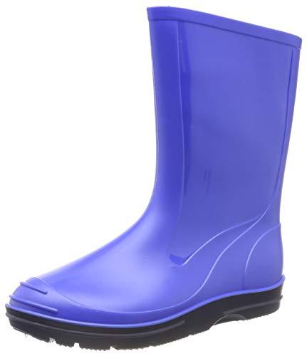 Beck Basic 486 - Botas plisadas para niños, Azul, 21