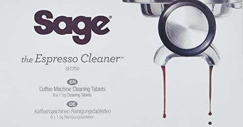 Sage Appliances SEC250 Pastillas de limpieza para limpieza de cafeteras expreso