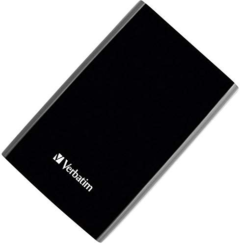 Verbatim 53150 - Disco Duro Externo de 500 GB (2,5), Color Negro