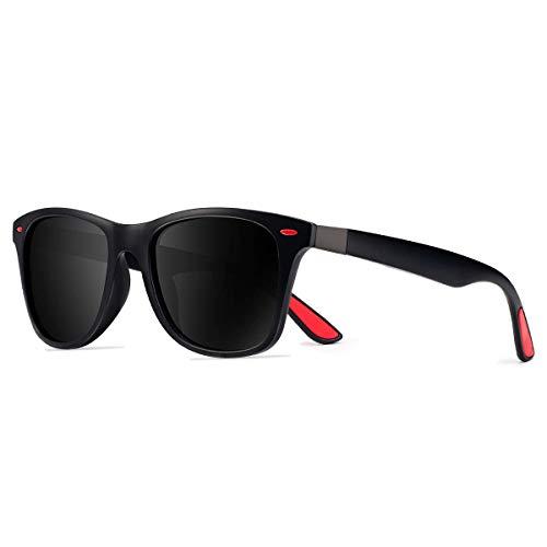 CHEREEKI Gafas de Sol Polarizadas, Gafas de Sol de Moda Hombre Mujer 100% Protección UV400 Gafas...