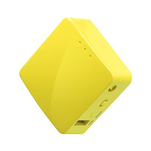 GL.iNET GL-MT300N-V2 (Mango) Mini VPN Travel Router portátil inalámbrico, Hotspot de Móvil de...