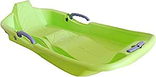 SULOV Trineo de Bobs Funky Double, Unisex, Schlitten-Bobs Funky Double, Verde