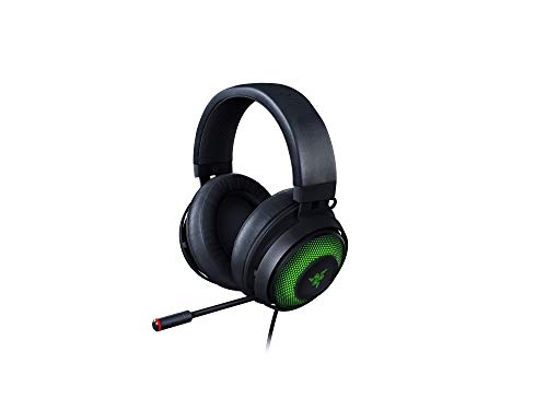 Razer Kraken UltimateCascos Gaming, Auriculares Gaming con USB, para PC y base de conmutación con...