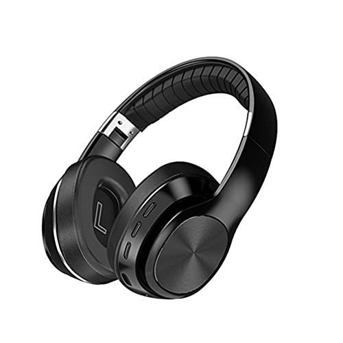 Grevosea Auriculares inalámbricos con cable, auriculares de estudio de alta resolución, audio para...