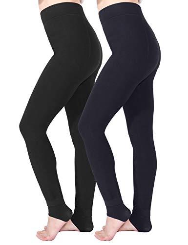 Tencoz Leggins Termicos Mujer, Leggins Invierno Mujer Leggings Invierno 2 Pack, Leggings Cintura...