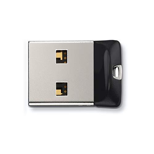 SanDisk SDCZ33-016G-G35, Memoria con USB 2.0, 16GB, Negro/Plata