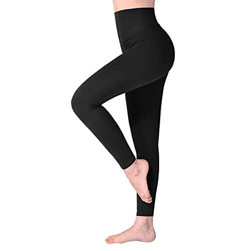 SINOPHANT Leggins Mujer, Pantalon Deporte Yoga Mujer, Leggings Mujer Fitness Suaves Elásticos...