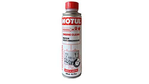 MOTUL Aditivo Aceite - Engine Clean 300 ml Professional (Formula Mejorada 2018)
