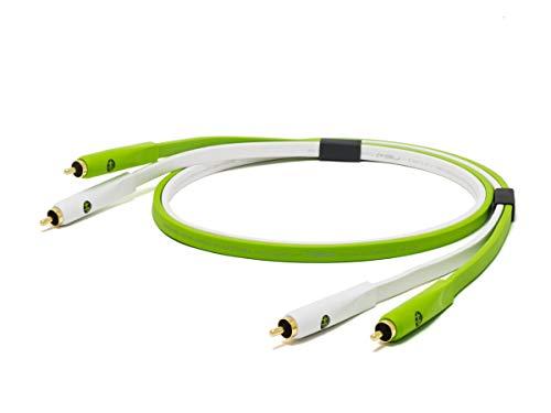 Neo NEORCAB1M - Cable RCA (adaptador, 1 m, conector chapado en oro)
