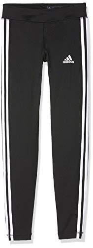 adidas Equipment 3S, Mallas para Niñas, Negro (Black/White), 128 (Talla del fabricante:7-8 años)