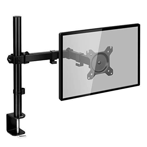 SIMBR Soporte Monitor con Brazo Simple para PC y Pantalla LCD LED de 13'-27' para Mesa y Escritorio...