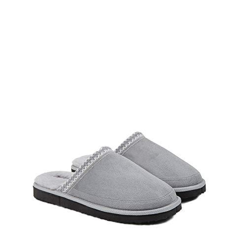 Dunlop Zapatillas Casa Hombre, Pantuflas Hombre De Forro Polar Suave, Zapatillas Hombre con Suela...